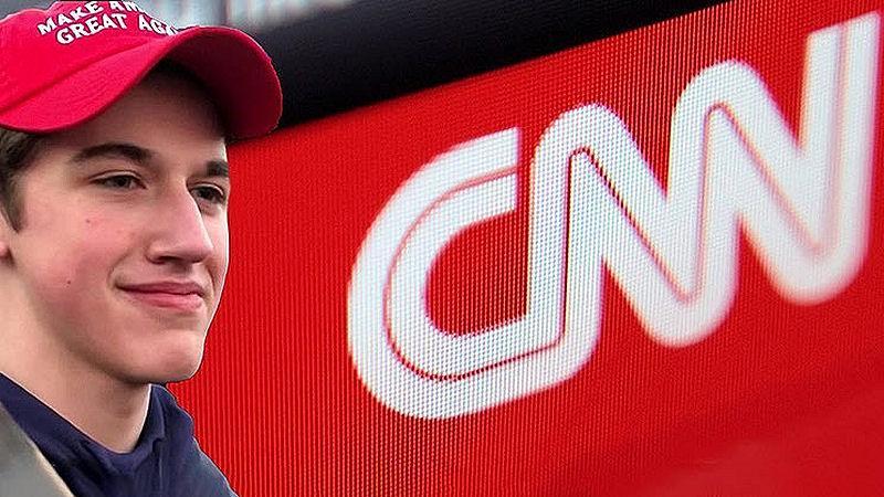 Nick Sandmannam Files $275M Lawsuit Against CNN
