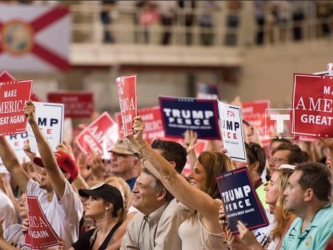 Donald Trump High Energy Rally In Wheeling WV 09/29/18