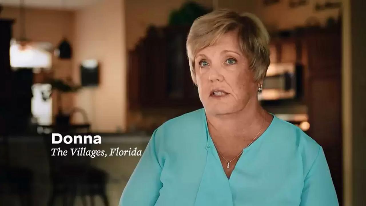 Donna From The Villages Florida Endorses Biden / Harris