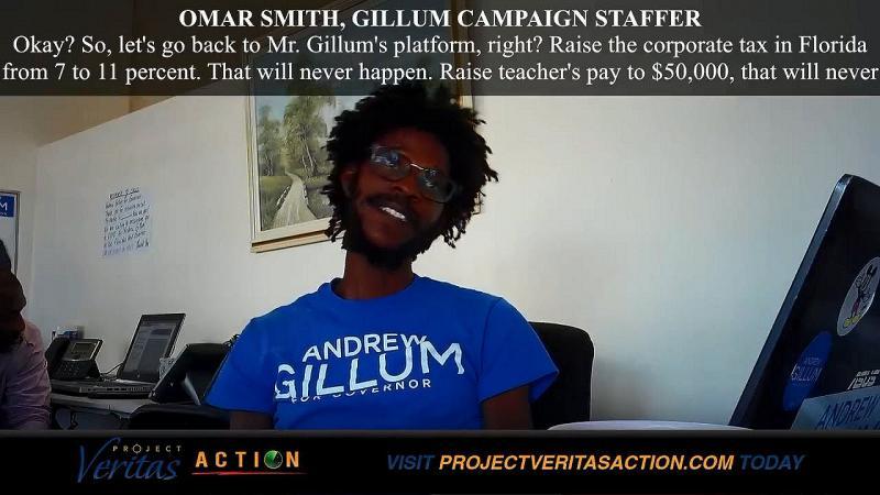 Andrew Gillum Staffer Omar Smith Sends Campaign To Icy Atlantic Ocean Bottom