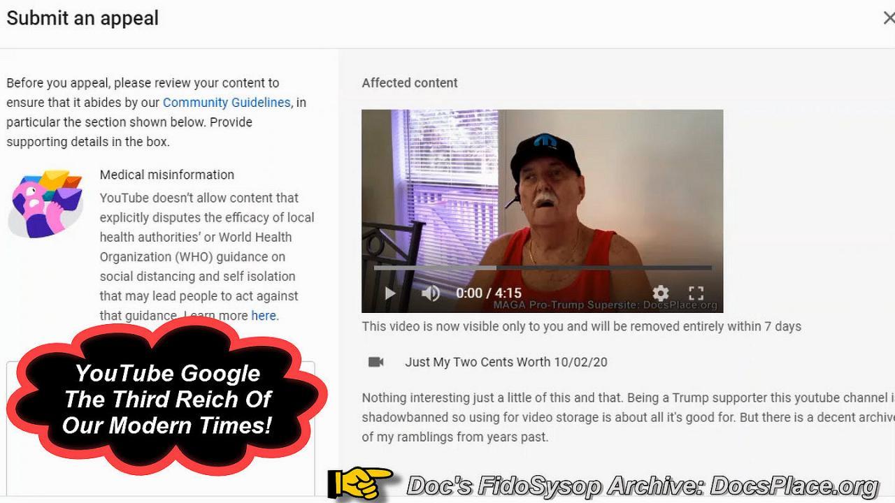 Google The New Third Reich Stifling Americans First Amendment Rights