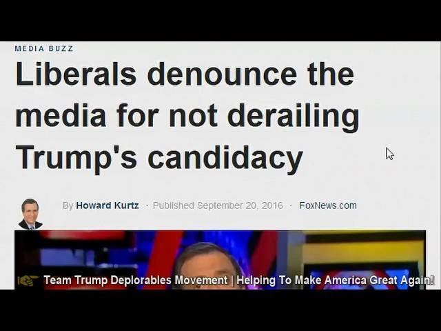 Media Fails Again To Derail The Trump Train