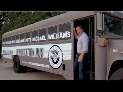 Michael Williams Deportation Bus Video Hate Speech Says YouTube