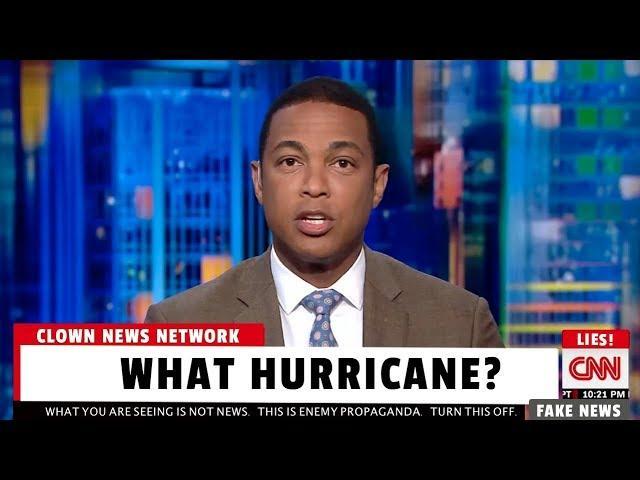 CNN Ignores Hurricane Harvey Coverage To Bash Donald Trump