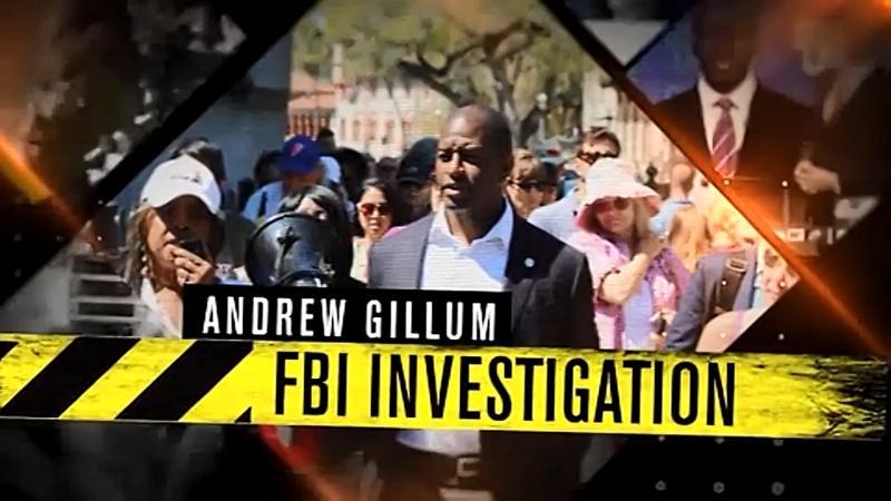 Andrew Gillum Under FBI Investigation Bullies TV Networks Running This Ad