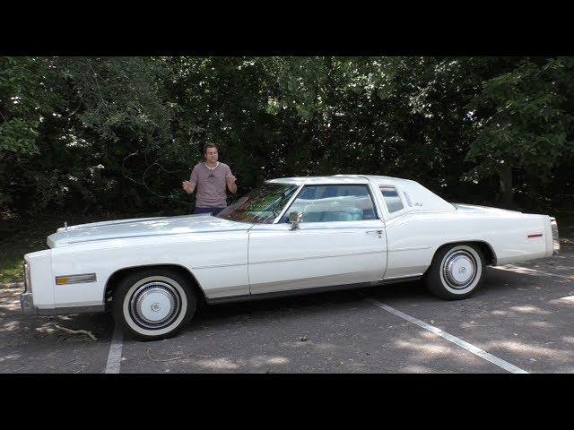Review 1977 Cadillac Eldorado Biarritz The Most Expensive GM Car