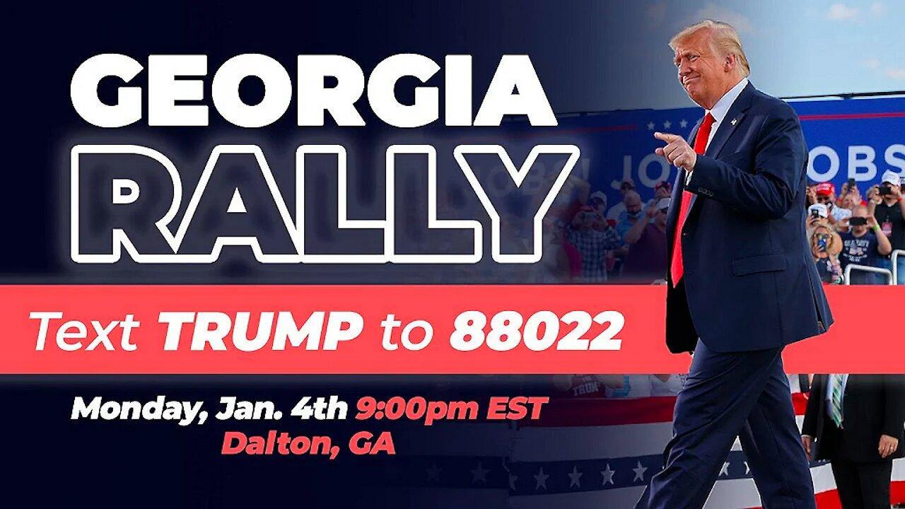 Trump Rally Dalton GA 01/04/21 God Bless America!