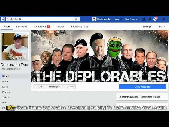 Clinton Worried About Deplorables Movement