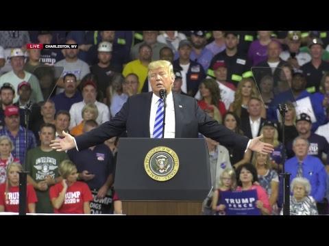 Donald Trump MAGA KAG2018 Charleston WV Rally 08/21/18