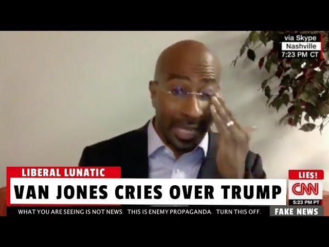 CNN Van Jones Cries Real Tears Over Charlottesville Riots