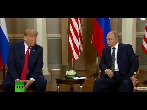 Putin-Trump Helsinki: News Conference Following Summit