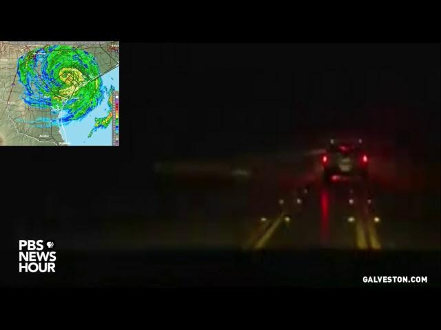 Watch Live: Hurricane Harvey Batters Galveston Texas