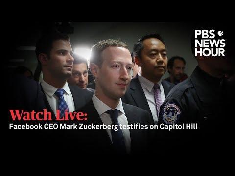 Facebook CEO Mark Zuckerberg Senate Testimony Full