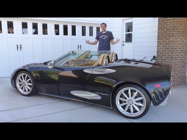 Spyker C8 Spyder Exotic Car Review by Doug DeMuro